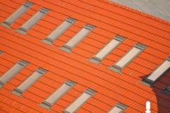 Крыша и окна Стоковые Фотографии RF