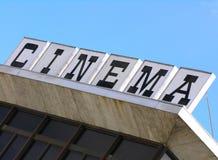 крыша кино Стоковая Фотография