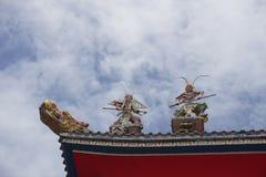 крыша Китайск-стиля Стоковая Фотография