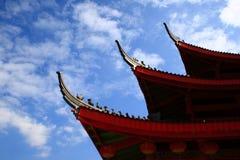 крыша края Стоковое Фото