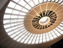 крыша круга Стоковое Фото
