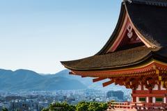 Крыша культуры Японии стоковое фото rf
