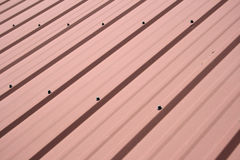 крыша металла предпосылки Стоковая Фотография RF