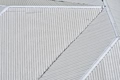 Крыша металлического листа иллюстрация штока