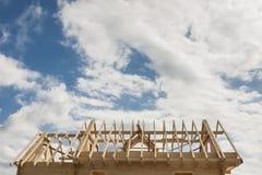 крыша незаконченная Стоковая Фотография RF