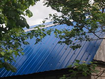 Крыша ложи сада Стоковые Изображения