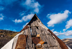 крыша дома старая Стоковые Изображения
