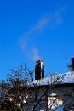 Крыша дома стоковая фотография