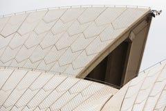 Крыша оперного театра Сиднея стоковые изображения
