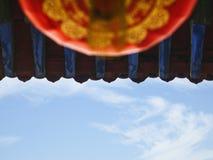Крыша пагоды, китайская архитектура, провинция Шаньси, Китай Стоковая Фотография RF