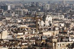 Крыша Парижа Стоковое Изображение RF