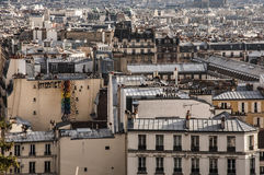 Крыша Парижа Стоковое фото RF