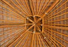 Крыша пальмы Стоковые Фото