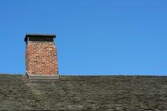 крыша печной трубы старая Стоковые Изображения