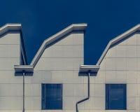 Крыша промышленного комплекса стоковые изображения rf