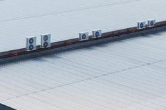 Крыша промышленная Стоковая Фотография