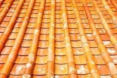 Крыша плитки виска в Таиланде Стоковые Фото