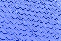 Крыша плиток для предпосылки Стоковые Фото