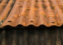 крыша ржавая Стоковые Изображения
