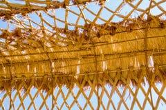 Крыша риса Стоковая Фотография