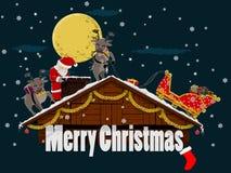 Крыша рождества Стоковые Изображения