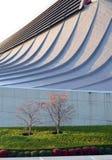 Крыша свободной формы спортзала Yoyogi национального, токио, Японии стоковые фото