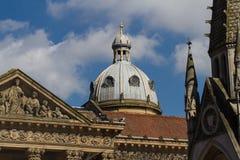 Крыша собора в Бирмингеме Стоковая Фотография