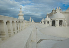 Крыша собора в Леоне Стоковое Фото