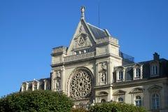 Крыша собора в Париже Стоковое Изображение
