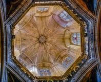 Крыша собора Санты Eulalia Стоковое Изображение RF