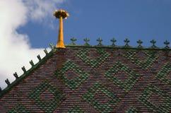 крыша собора Стоковое Фото
