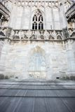 Крыша собора Duomo, милана Стоковая Фотография