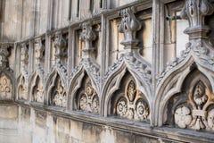 Крыша собора Duomo, милана Стоковая Фотография RF
