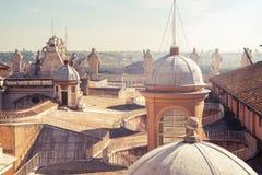 Крыша собора St Peter Стоковые Изображения RF