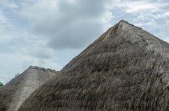 Крыша составленная сена Стоковая Фотография