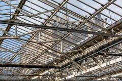 Крыша станции Waverly в Эдинбурге, Шотландии Стоковое Изображение RF