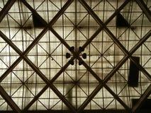 крыша стекла конструкции Стоковое Фото