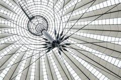 Крыша, строя деталь центра Сони на Potsdamer Platz Стоковое фото RF