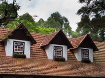 Крыша с чердаком стоковое изображение rf