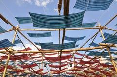 Крыша ткани Стоковые Фото