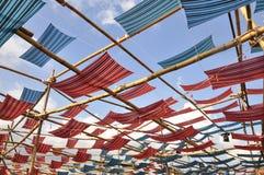 Крыша ткани Стоковая Фотография RF