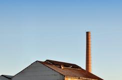 Крыша фабрики Стоковые Изображения
