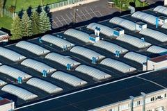 Крыша фабрики Стоковая Фотография RF