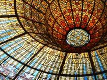 Крыша цветного стекла Стоковая Фотография