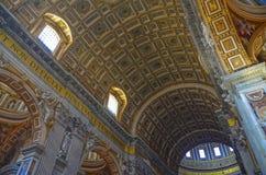 Крыша церков St Peter Стоковое Фото