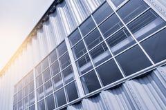 крыша части зодчества стеклянная самомоднейшая Стоковые Изображения