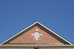 крыша щипца стоковая фотография