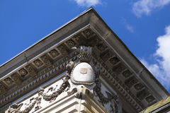 крыша детали старая Стоковые Фотографии RF