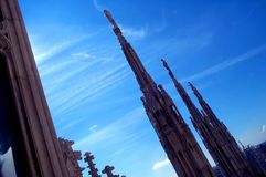 крыша 2 соборов Стоковое Фото