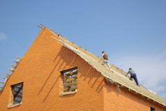 крыша Стоковая Фотография